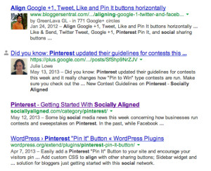 Google Authorship photo example