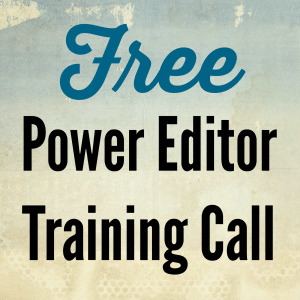 Free Power Editor Training Call