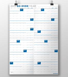 Do Over Year Calendar
