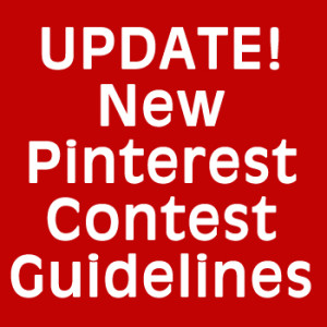 New Pinterest Contest Rules
