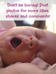 Add photos to posts on Facebook