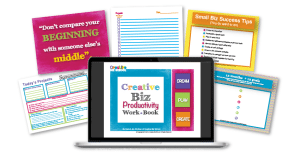 Creative Biz School Productivity Workbook