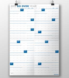 Do Over Year Calendar