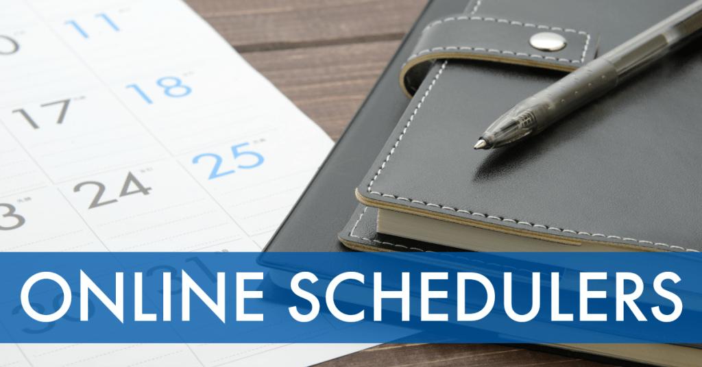 Online scheduling calendars