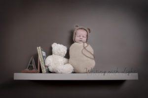 teddy-on-shelf